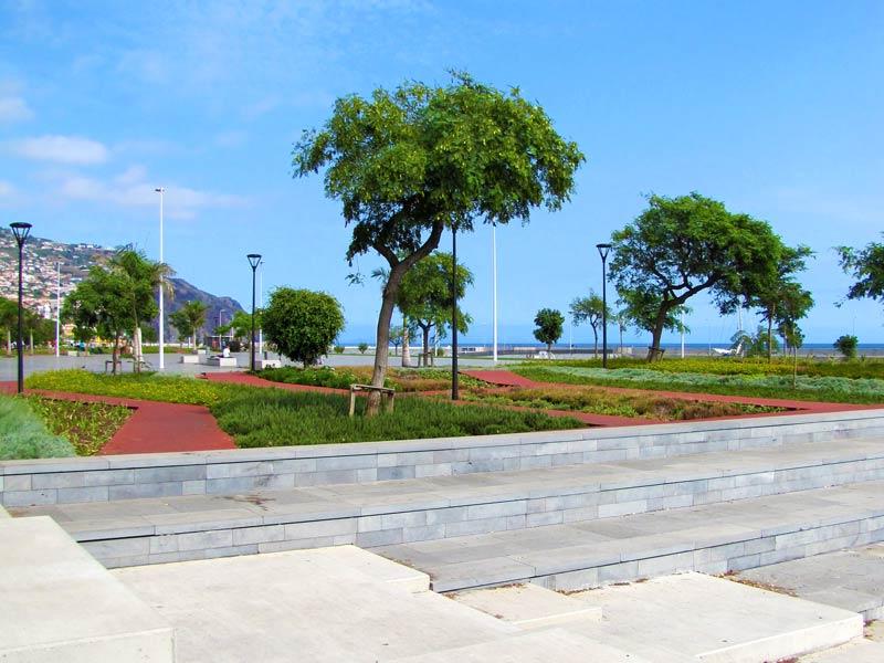 Funchal Madeira harbor area