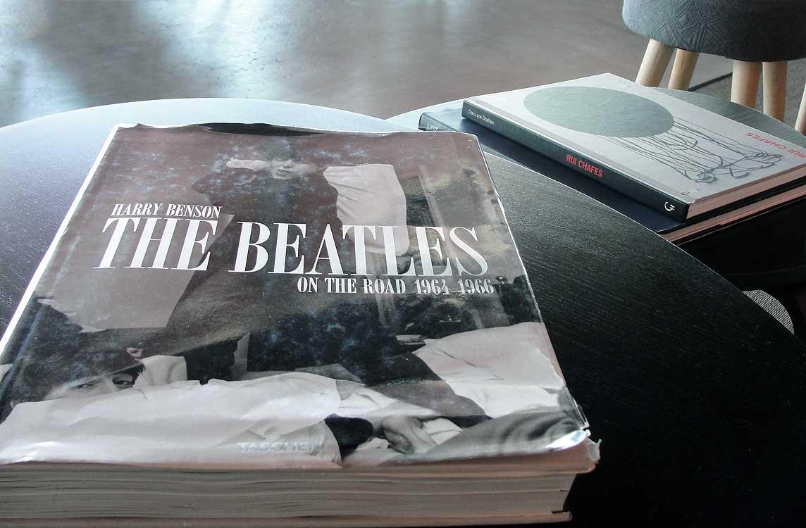 Ronaldo hotel Madeira The Beatles book
