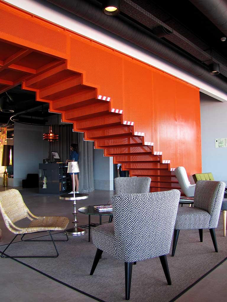 Ronaldo hotel Madeira lounge chairs