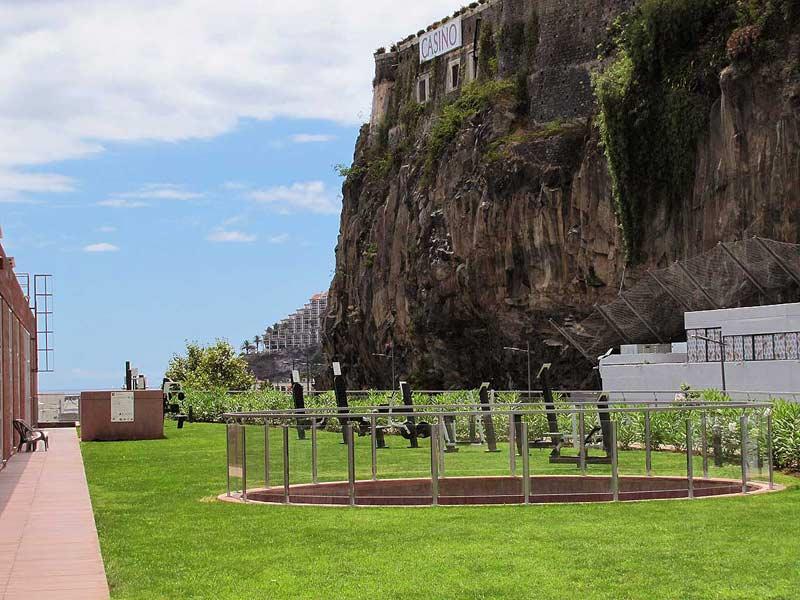 Ronaldo hotel Madeira training en fitness ruimte