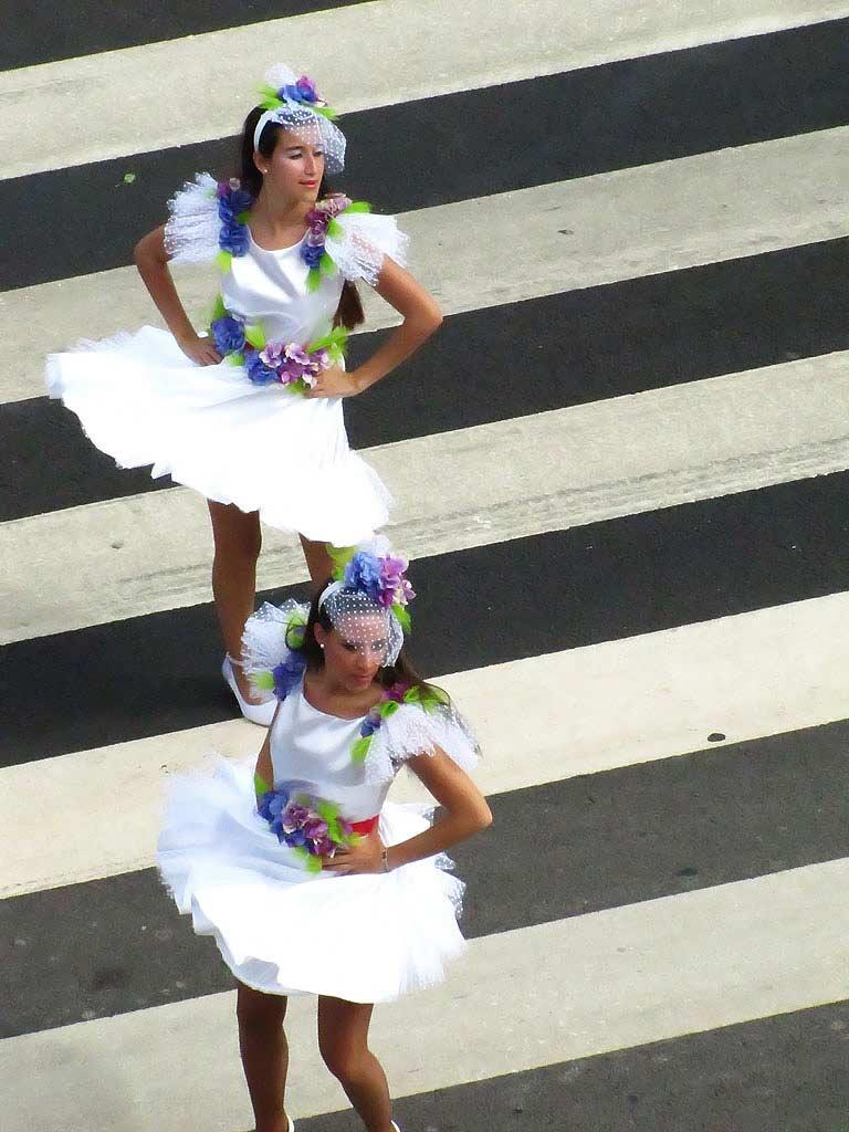 flower festival dancing funchal