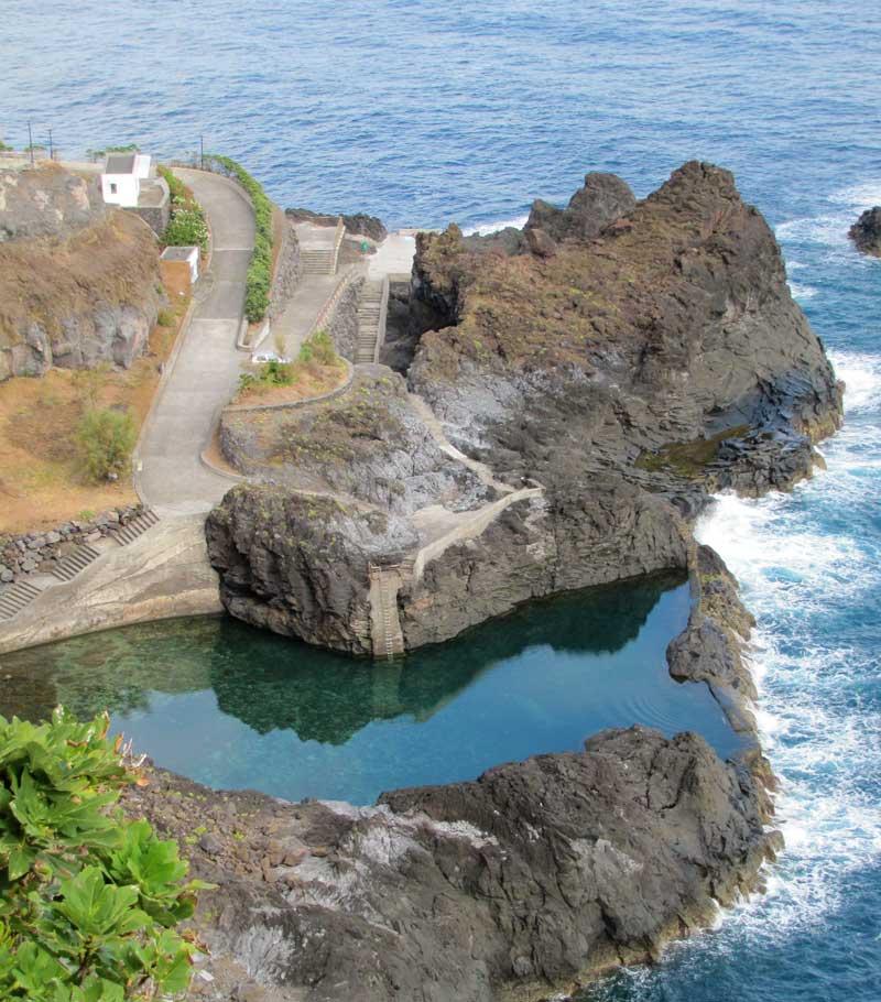 Seixal natural swimming pools