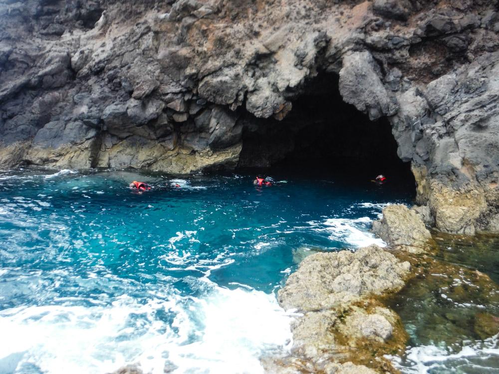 coasteering Madeira snorkling