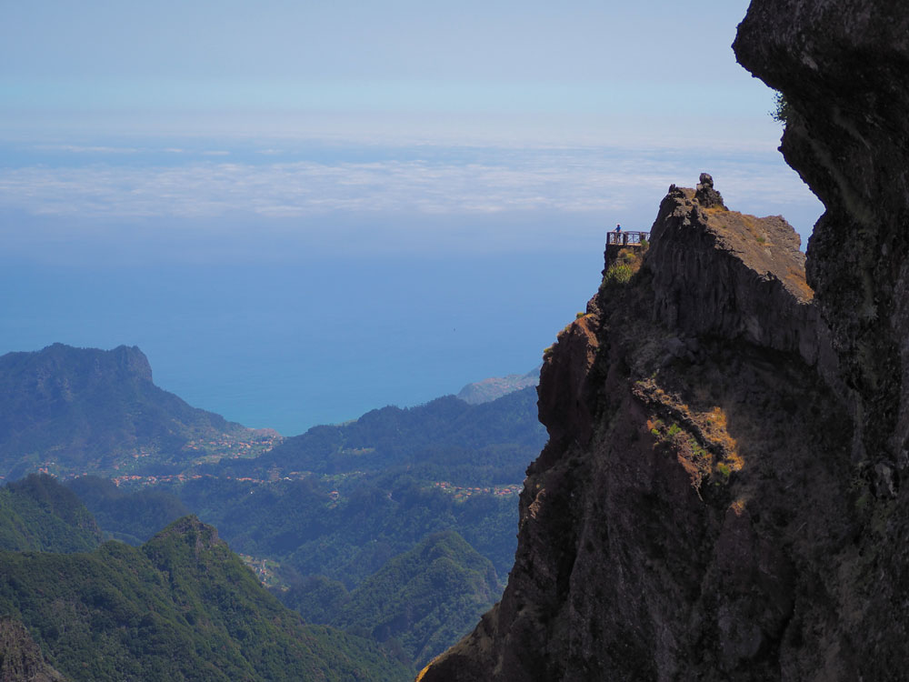 pico do arieiro mountains