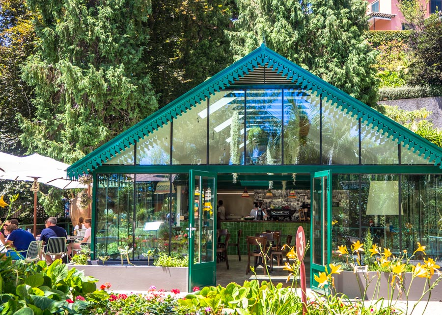 monte palace tropical garden greenhouse cafe