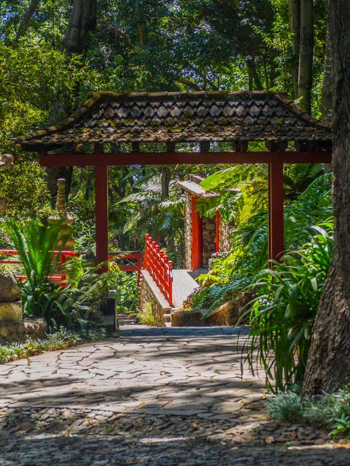 monte palace tropical garden pagode