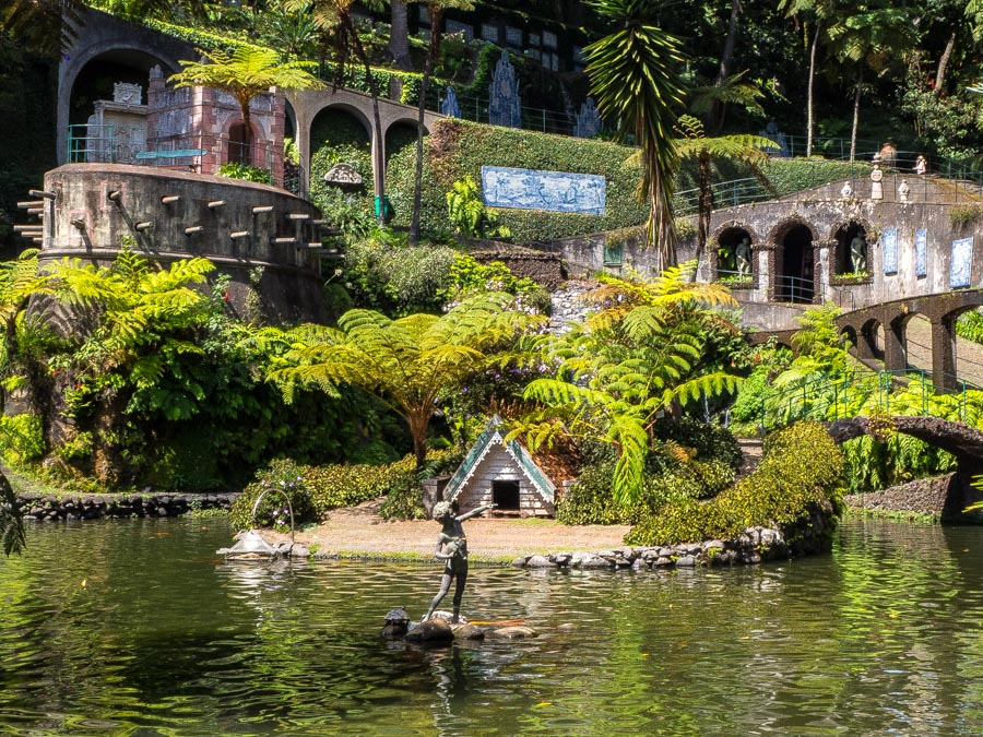 monte palace tropical garden meer