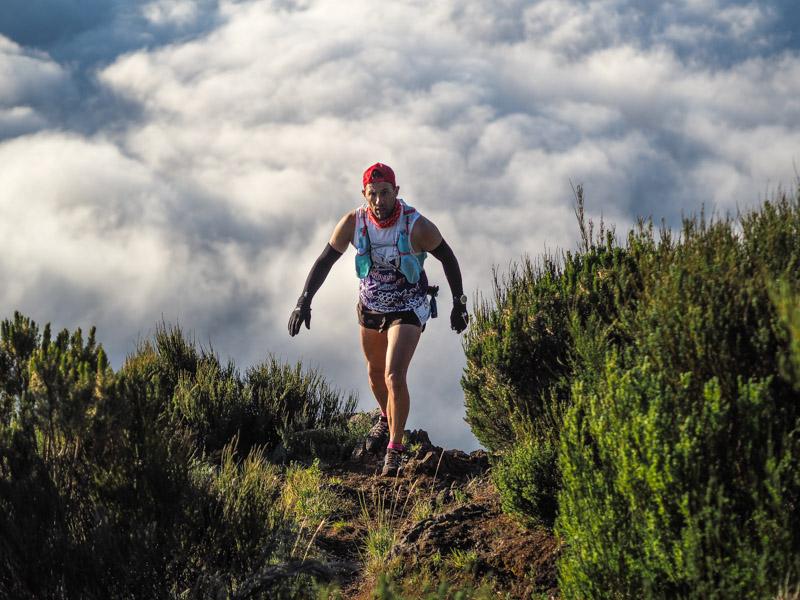 Ultra SkyMarathon Madeira 2018 klim naar Pico Ruivo