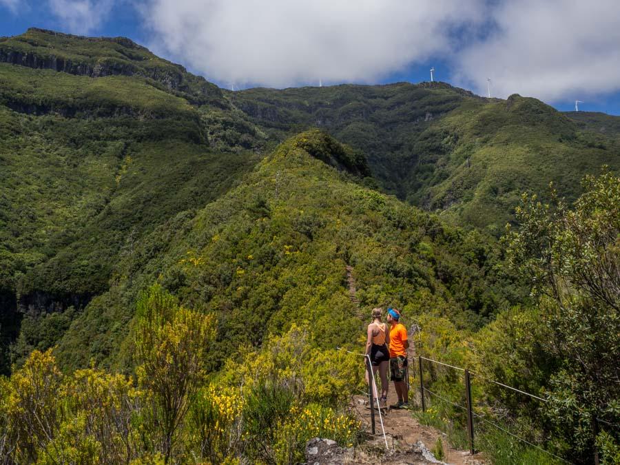 Caminho do Pináculo e Folhadal Madeira