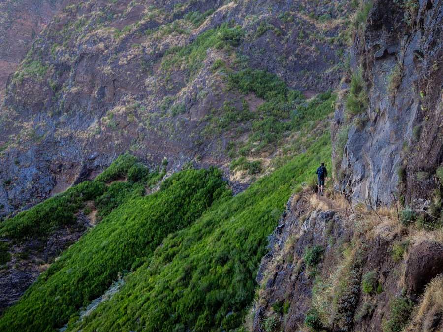 Pico Arieiro Pico Ruivo wandeling